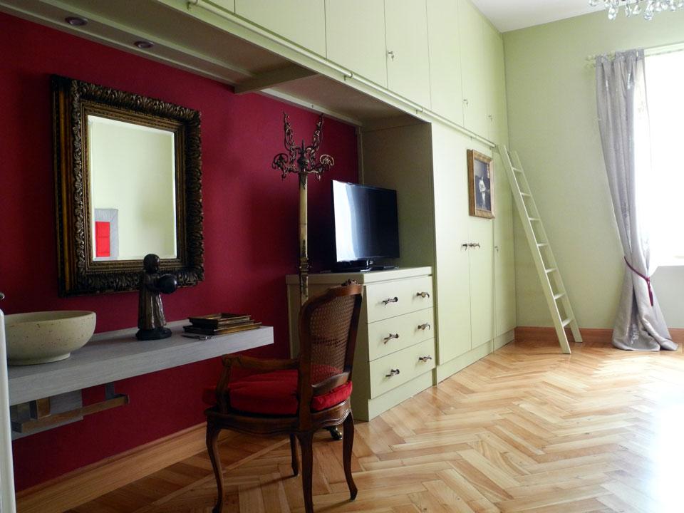 Awesome Parete Rossa Camera Da Letto Images - Amazing Design Ideas ...