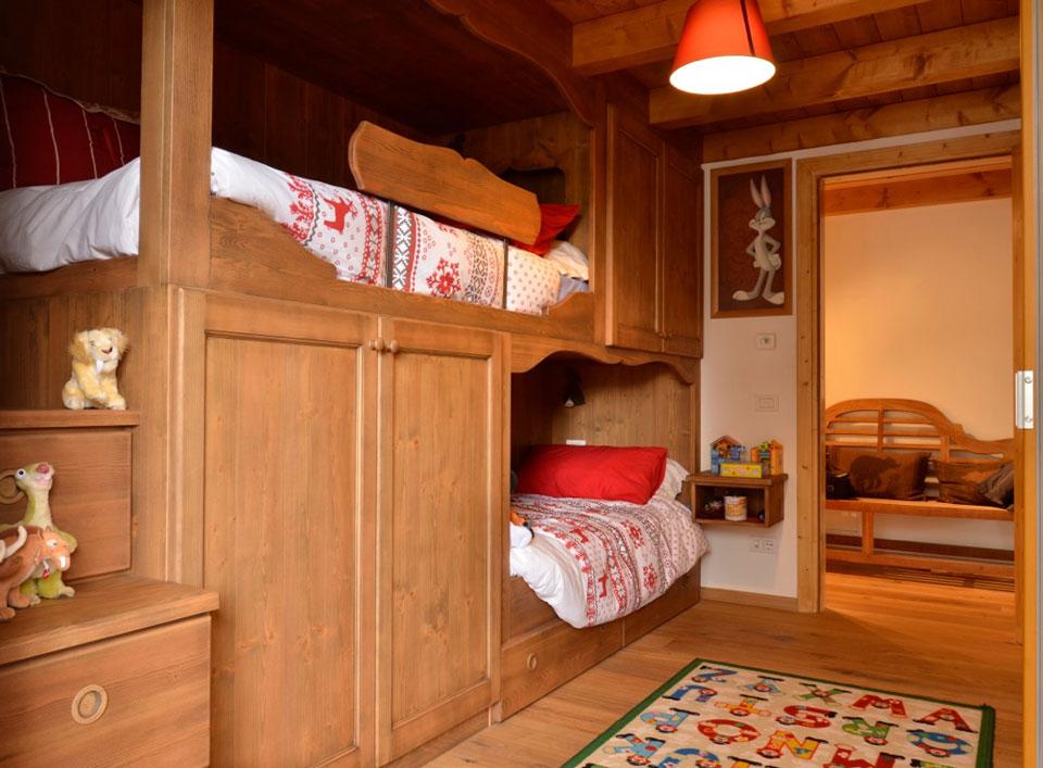 Arredamentidellantonio camere - Come costruire un letto a castello in legno ...